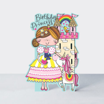 Rachel Ellen Designs Cards - Little Darlings - Birthday Princess